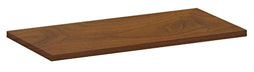 Element System 10771-01057 Standard Holz-Regalboden 19 mm, Verschiedene Längen, Weiß, Buche, Eichetrüffel, Walnuss, Lärche, 600x300 mm