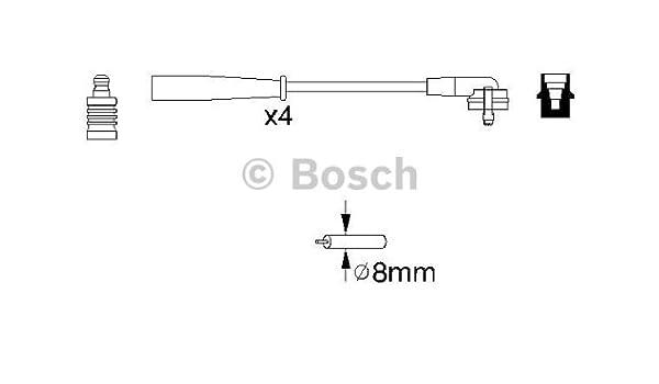 Bosch 0 986 356 805 Z/ündungskabel