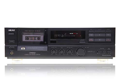 Akai GX-65 - 3 Head - Kassettendeck in schwarz