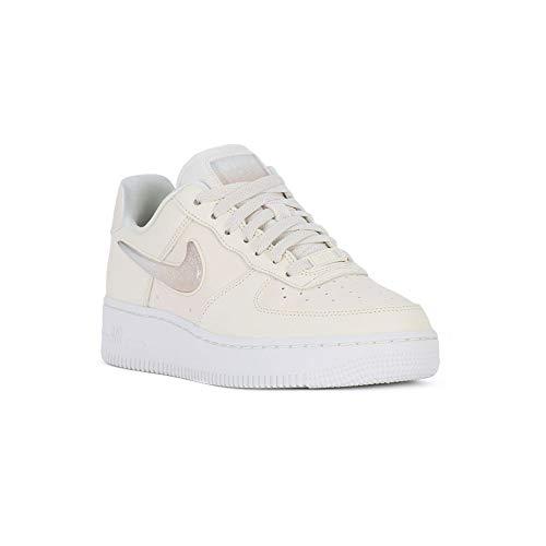 Nike Damen W Air Force 1 '07 Se PRM Basketballschuhe, Mehrfarbig (Pale Ivory/Summit White/Guava Ice 100), 39 EU -