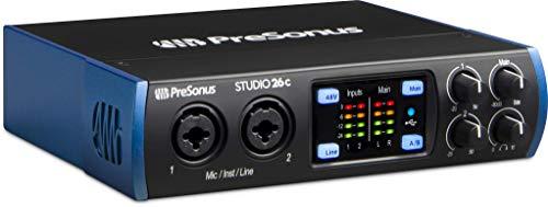 USB-C-Audio-Interface von PreSonus (Studio 26c) (Mic Presonus Studio)