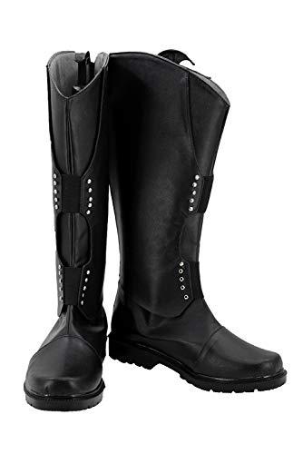 Loptr Hveðrungr Thor: Ragnarök Loki Stiefel Karneval Schuhe Cosplay Boots Herren Schwarz 39