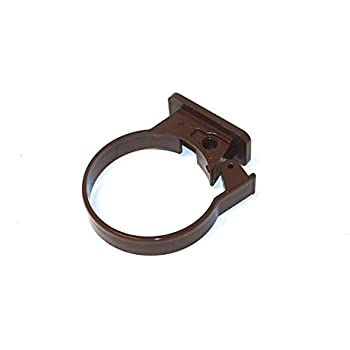 Marshall Tufflex Pipe Clip Clay Brown 3 X RWC1CL Bracket,Fixing for 68MM Downpipe