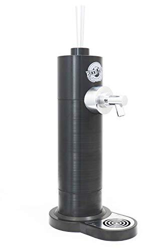Minitirador de cerveza de Richard Bergendi Black Edition - Dispensador Doméstico de Cerveza para Cañas...