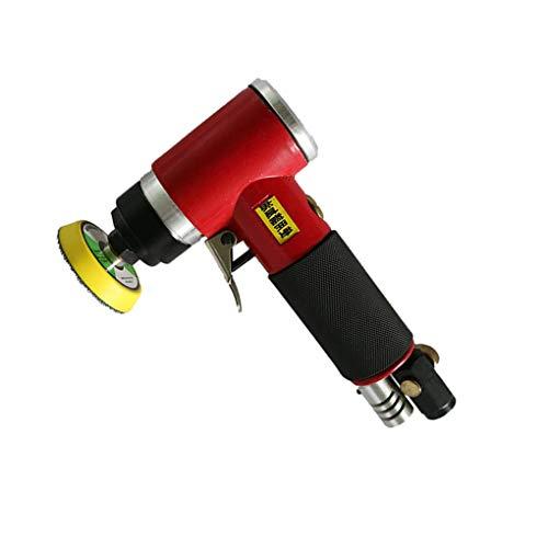 Lorsoul Pneumatische Grinder Exzentrisch Air Winkelschleifer Pneumatische Polierwerkzeug 2in / 3in Schleifteller Autopoliermaschine