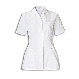 Alexandra Workwear Womens Tunic White 8