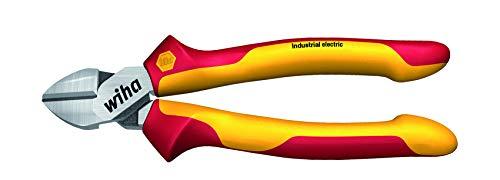 Wiha 43341 Industrial Electric mit DynamicJoint Seitenschneider, rot gelb, 180mm -