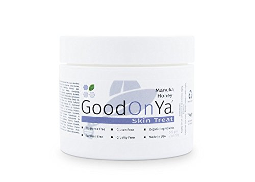 Organic Face Moisturizing Cream by GoodOnYa Natural Facial Moisturizing with Manuka Honey (2 oz) (Deep Wrinkle Eye Repair)