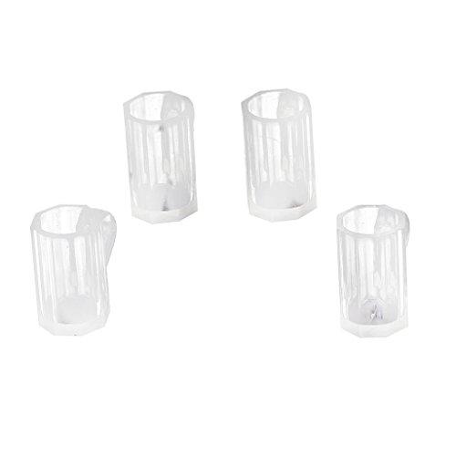 ertige transparente Bierkrug Tasse für 1/12 Puppenhaus Deko (Kunststoff-bierkrüge)