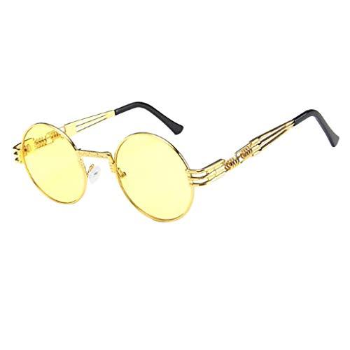 iCerber sonnenbrillen Süß Schöne Verspielt Frauen Männer Vintage Retro Brille Unisex Big Frame Sonnenbrille Eyewear UV 400 ❀❀2019 Neu❀❀(F)