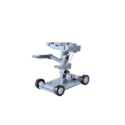 Acqua 1PC Fai da Te in plastica Grigia Assemblea Salt Powered Regalo Car Kit Robot Bambini Bambini Scienze dell'Educazione Toy