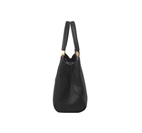 Weibliche Tasche Retro Handtasche Schultertasche Messenger Tasche Atmosphäre Einfache Mode Lässig Eleganz Blue2