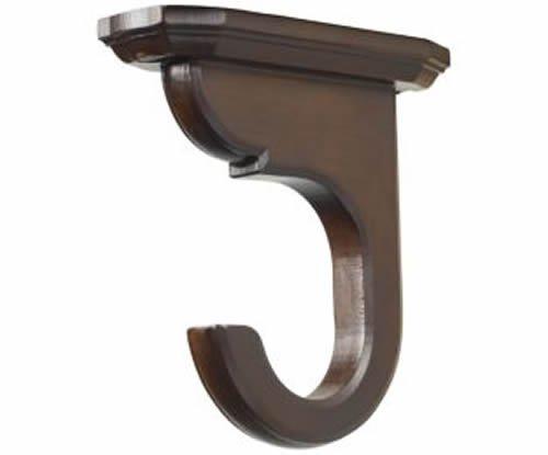 kirsch Wood TRS Classics support de montage au plafond : 1 3/20,3 cm Tube, café (46855841)