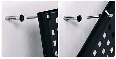 Werkzeugwand mit 19 teiligem Werkzeugbefestigungsset, Länge 80 cm x Breite 48 cm – beliebig erweiterbar - 7