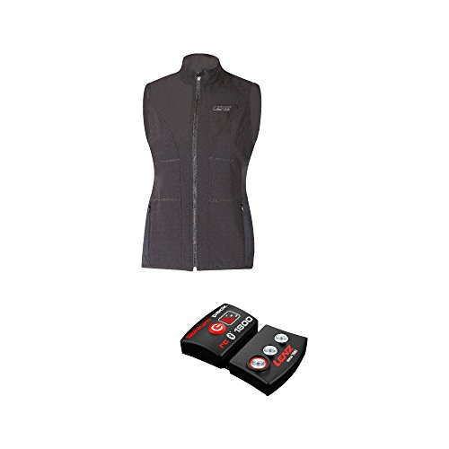 LENZ Herren Heizweste Lithium Pack RCB 1800 Set of Heat Vest 1.0, Schwarz, L, 1910