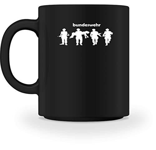 Generic Bundeswehr Soldaten Silhouette Motiv Kampf Stolz - Schlichtes Und Witziges Design - Tasse -