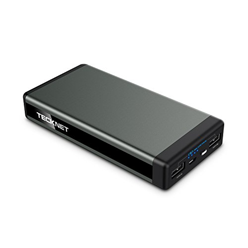 tecknet-zenith-13000mah-2-port-usb-portable-charger-external-battery-power-bank-with-bluetek-smart-c