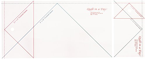 Quilt In A Day Flying Geese Ruler Set-2/Pkg