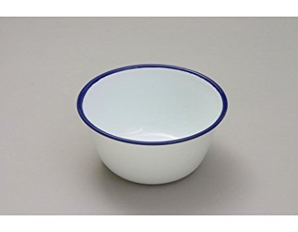 6 x Falcon 14cm Pudding Basin - Enamel