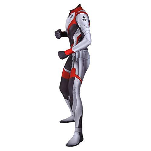 GanSouy Rächer: Endspiel The Avengers 4 Finale Schlacht Quantum Battle Suit Film Rollenspiel Raumanzug Kostüm Kostüm Party Trikot,A-M