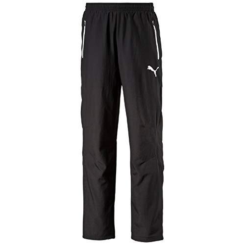 Puma Herren Hose Leisure Pants, black-white, XXL