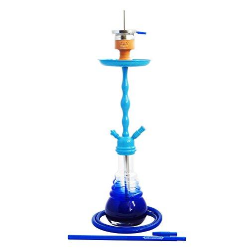 AMY Deluxe Shisha Glorious 08 AMY 630D-08 mattblau-blau