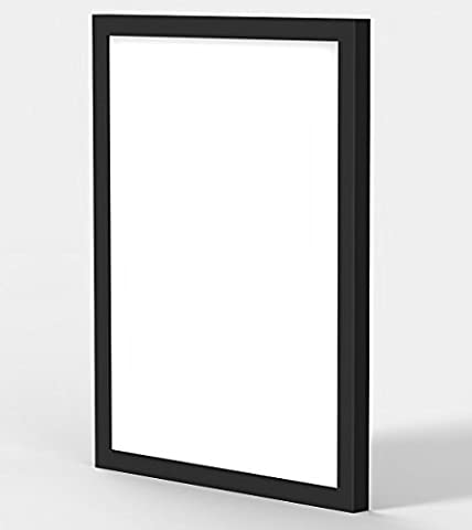 MODERN STYLE FLAT COLOURFUL 100% WOODEN FRAMES PHOTO PICTURE POSTER FRAME PREMIUM QUALITY BLACK