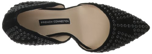 French Connection Ellis Spitz Wildleder Stöckelschuhe Black