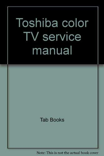 Toshiba Colour Television Service Manual