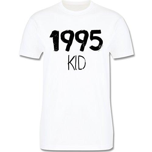 Geburtstag - 1995 KID - Herren Premium T-Shirt Weiß