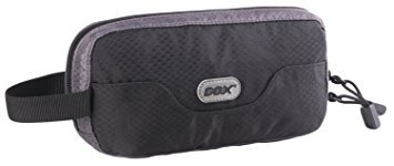 Trousse de Toilette, GOX Premium 420D Nylon Imperméable Portable Sac de toilette / Toiletry Bag (Piccolo Nero Maniglia)