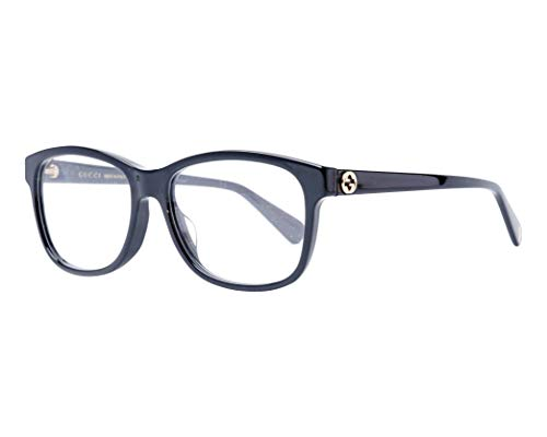 Gucci Brille (GG-0374-OA 001) Acetate Kunststoff glänzend schwarz