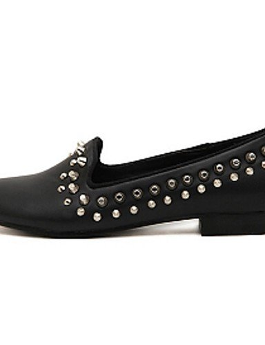 ZQ gyht Scarpe Donna-Mocassini-Casual-Comoda-Piatto-PU-Nero , black-us8.5 / eu39 / uk6.5 / cn40 , black-us8.5 / eu39 / uk6.5 / cn40 black-us8.5 / eu39 / uk6.5 / cn40