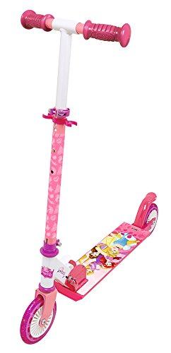 Smoby 750345–Principesse Disney Princess Roller con Freni, Pieghevole