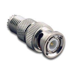 adaptare 60442 Adapter BNC-Stecker auf Mini-UHF-Buchse Mini-uhf-adapter