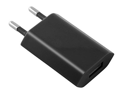 Foto de Contact LXCDU1 - Cargador de RED, con USB, color negro