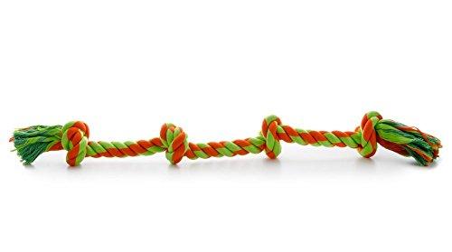 Hundespielzeug Spieltau Baumwolle Baumwollknoten Hunde…   08595159432168
