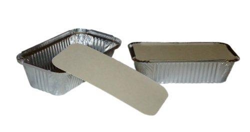 50grandes barquettes en aluminium + couvercles No6a Livraison gratuite