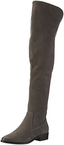 ALDO Women's Chiaverini Over Knee Boots, Grey (Grey Nabuck/13), 4.5 UK