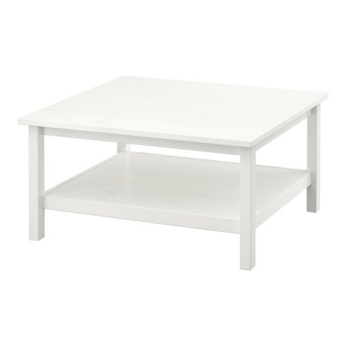 IKEA-HEMNES-Mesa-de-centro-mancha-blanca-blanco-90x90-cm