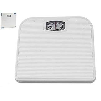 31nGH%2BVH0YL. SS324  - Bascula baño analogica blanca max 130kg
