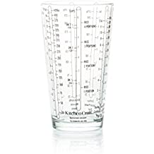 KitchenCraft Glass Measuring Cup for Wet / Dry Ingredients, 425 ml (0.75 Pints)