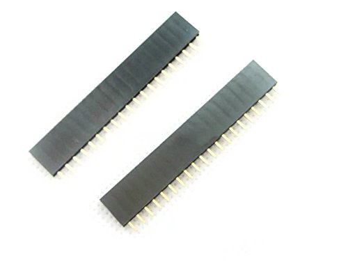 Amazon.co.uk - Goliton 10 pcs 20P 20pin Female Single Row Straight Pin Header Pitch 2.54mm