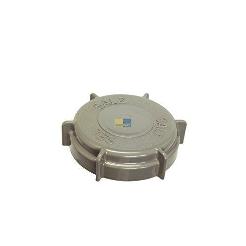 ORIGINAL Deckel Drehkappe Salz Verschluss Spülmaschine Bauknecht 481246279903 -