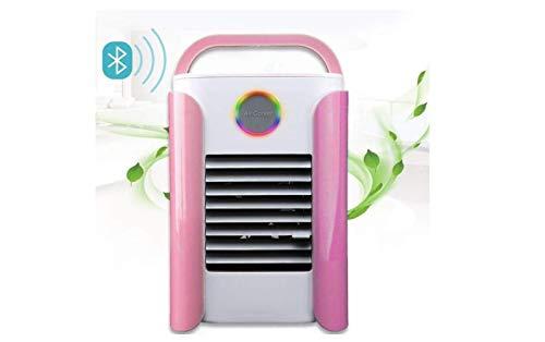 imaanlagenlüfter Verdunstungsluftkühler Tragbarer Mini-Luftreiniger Luftbefeuchter Usb-Schreibtisch Bluetooth-Lautsprecher Lüfter Für Zu Hause,A,A ()