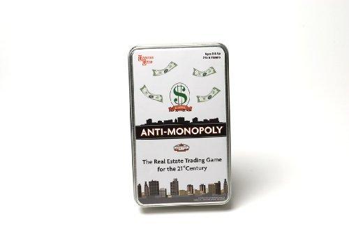 Anti Monopoly Travel Version by Paul Lamond Games