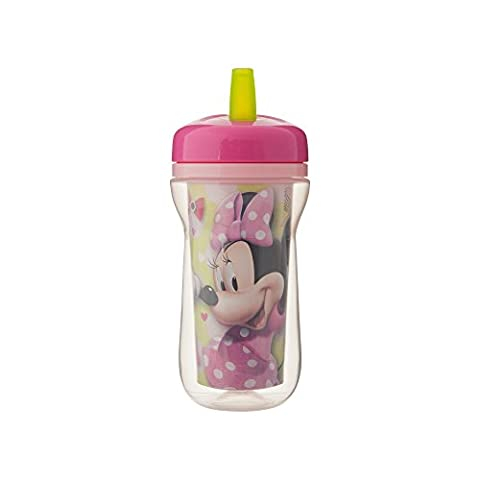 The First Years Baby Minnie Mouse Insulated Straw Cup - 9 oz, 1 pack