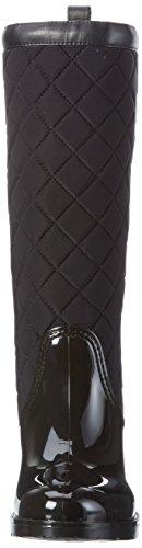 Tommy Hilfiger - O1285xford 21r, Stivali alti con imbottitura leggera Donna Nero (Nero (black 990))