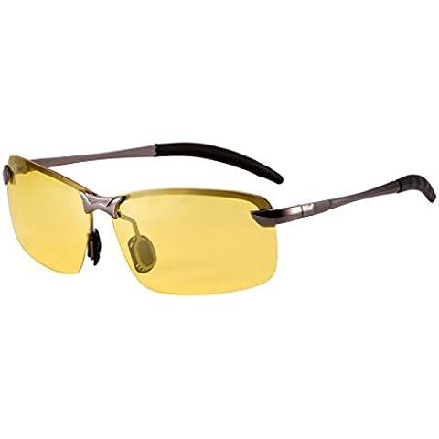 La visione notturna polarizzata Lens Occhiali da