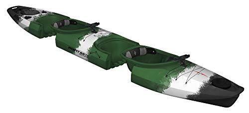 Unbekannt Point 65 Martini Angler GTX Extra Element Modul Kajak Zweier Kajak, Farbe:Camouflage, Ausstattung:Anglerausstattung -